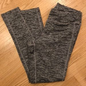 Jockey black/gray yoga activewear leggings size M
